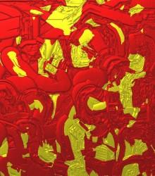 ED 0145 - Vermelho e Dourado 01