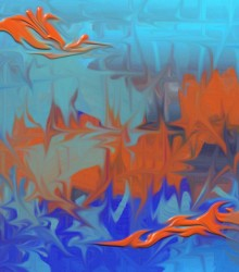 ED 0215 - Abstrato Alto Relevo 020